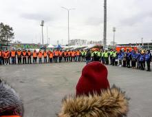Трудовые будни сотрудников ЧОП «Агентство Профессиональной Охраны»