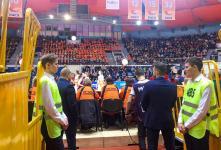 Баскетбольная игра УГМК – ТТТ (Латвия)