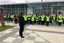 Охрана на матче Урал-Тамбов